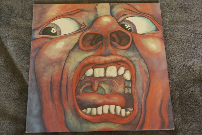 King Crimson - In The Court Of The Crimson King Atlantic Brodway pressing