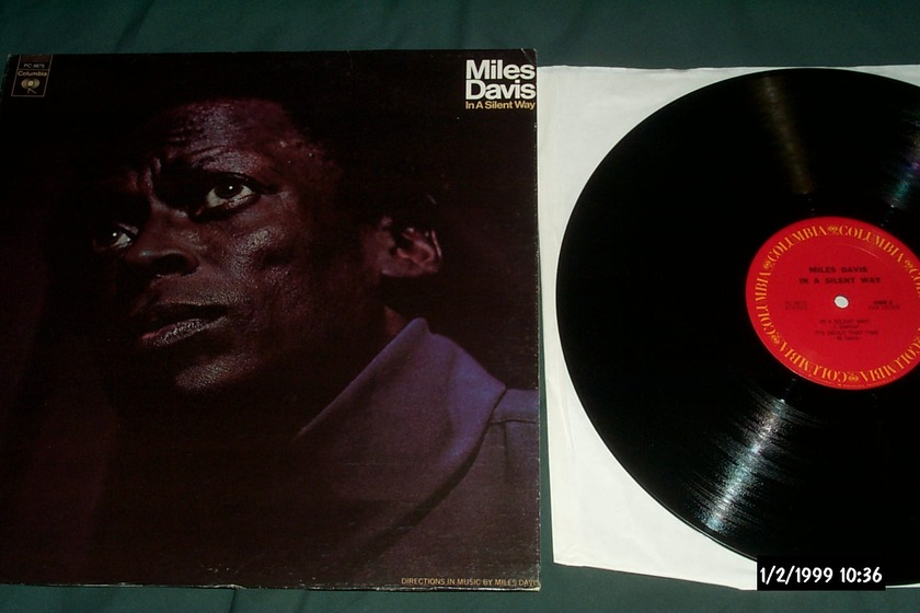 Miles Davis - In A Silent Way LP NM