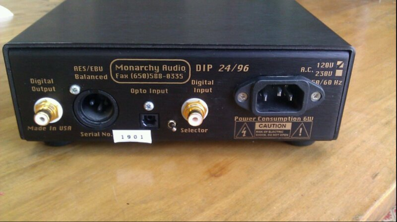 Monarchy Audio 24/96 DIP