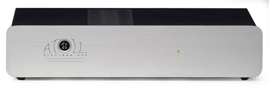 Atoll Electronique AV80 3-channel amplifier (silver)