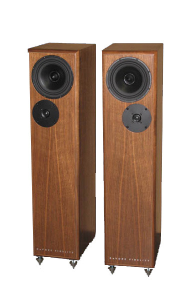 DeVore Fidelity Gibbon Super 8 Floorstanding Speakers (Walnut) - Floor Model