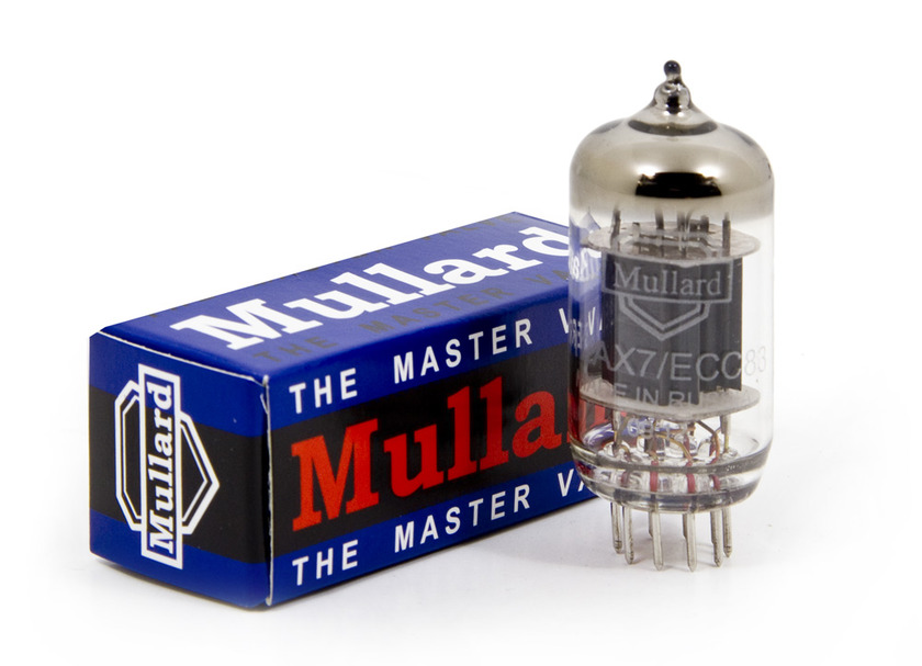 mullard 12ax7 Upscale audio platinum matched pair Mint