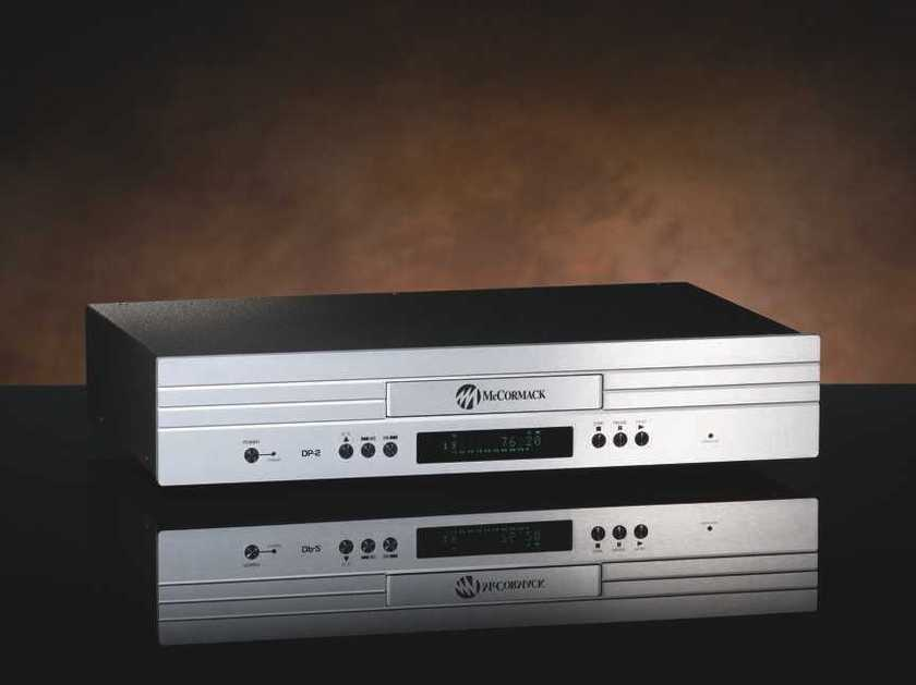 McCormack DP-2 CD Player, Demo with Full Warranty