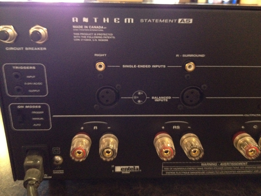 Anthem  Statement A 5 5 x 225 watt