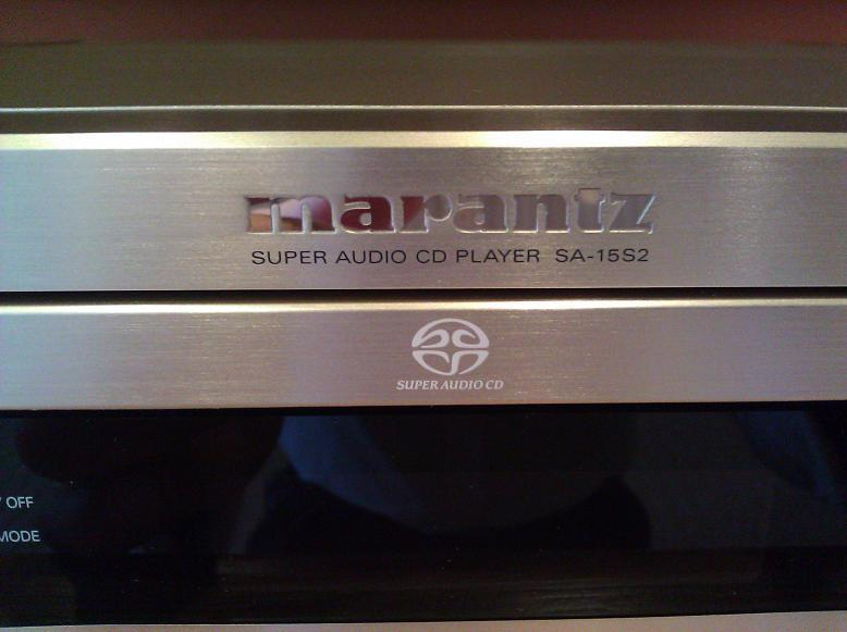 Marantz SA15S2 Super Audio CD Player