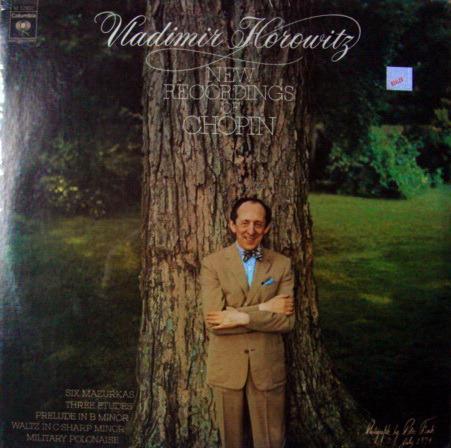 ★Sealed★ Columbia / HOROWITZ, - Chopin Mazurkas, Etudes, Waltz & Polonaise!