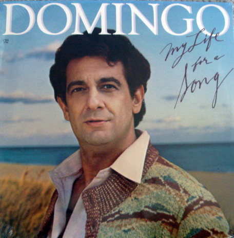 ★Sealed★ CBS /  - DOMINGO, My Life is a Song!