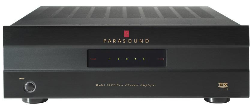 Parasound 5125 THX Ultra2 Multi Channel Amplifier 125w x 5