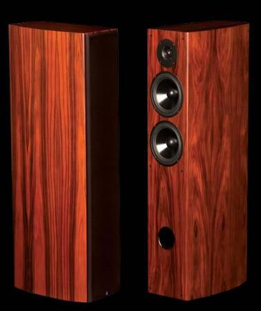 LSA LSA2 Rosewood Tower speakers