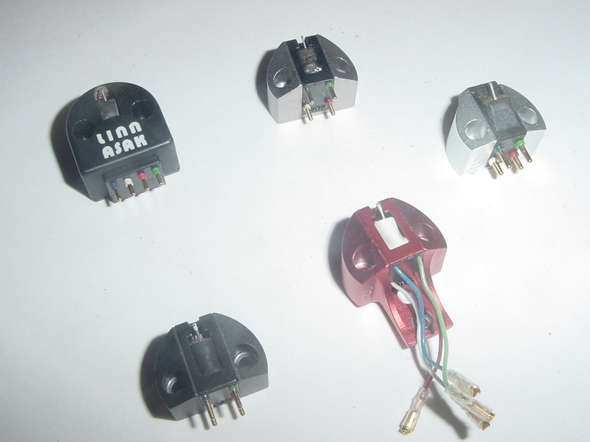Linn Troika rare MC cartridge low output LOMC Supex/Koetsu made