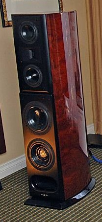 Acoustic Zen Crescendo speakers superb  absolute sound raveup!