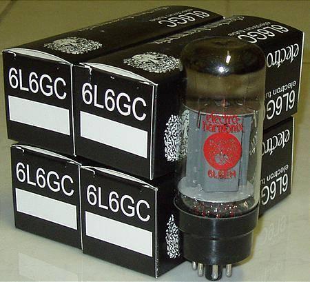 Electro harmonix 6L6GC tubes brand new matched quads !