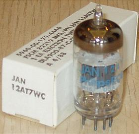 Philips ECG JAN 12AT7WC/ECC81/12AT7 tubes,brand new