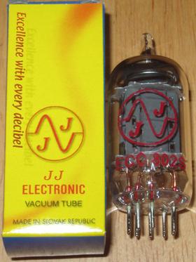 JJ Electronics ECC802S / 12AU7 tubes, Brand New !