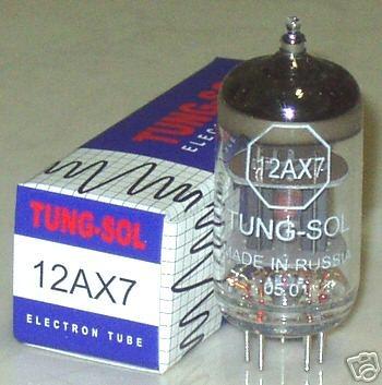 Tung Sol Tubes 12AX7/12AU7/12AT7, Brand New