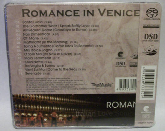 Romance In Venice, - Italian Love Songs TopMusic SACD, new