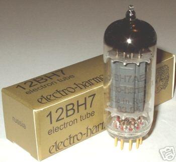 Electro Harmonix 6922 / 5751 /  12AY7 / 12BH7 Gold Pin tubes, new !