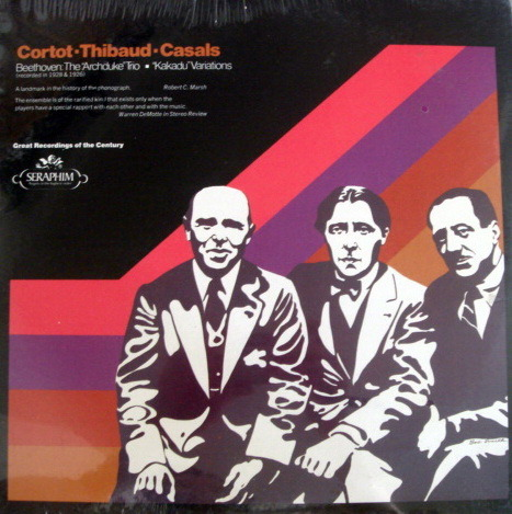 ★Sealed★ EMI SERAPHIM /  - CASALS-THIBAUD-CORTOT, Beethoven Archduke Trio!