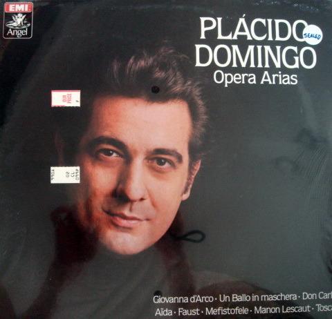 ★Sealed★ EMI Angel / - PLACIDO DOMINGO sings Opera Arias!