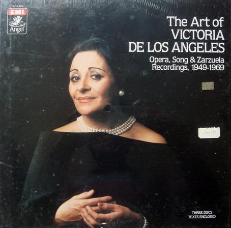 ★Sealed★ EMI Angel /  - Art of Victoria De Los Angeles, 3LP Box Set!