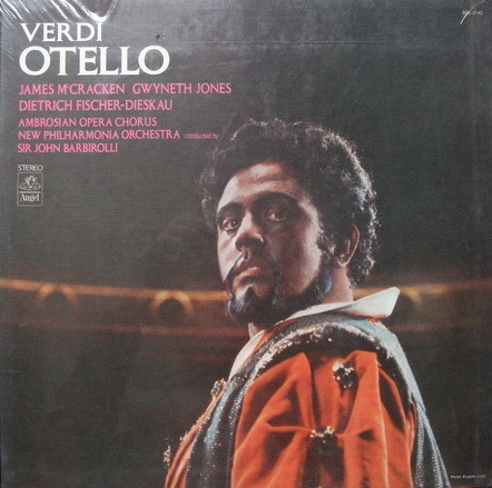 ★Sealed★ EMI Angel / BARBIROLLI-FISCHER-DIESKAU, - Verdi Othello, 3LP Box Set!