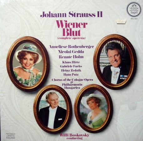 ★Sealed★ EMI Angel / BOSKOVSKY, - Strauss Wiener Blut, 2LP Box Set!
