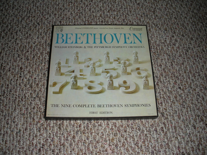 CC 18001 SD * Beethoven - The Nine Complete Symphonies * FIRST EDITION