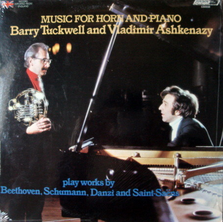 ★Sealed★ London-Decca / - ASHKENAZY-TUCKWELL, Music for Horn & Piano!