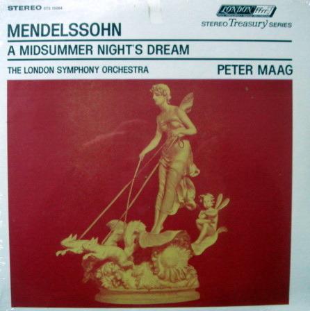★Sealed★ London-Decca / MAAG, - Mendelssohn  A Midsummer Night's Dream!
