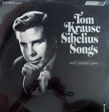 ★Sealed★ London-Decca / - TOM KLAUSS, Sibelius Songs!