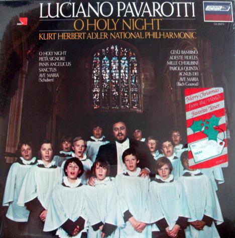 ★Sealed★ London-Decca / - PAVAROTTI, O Holy Night!