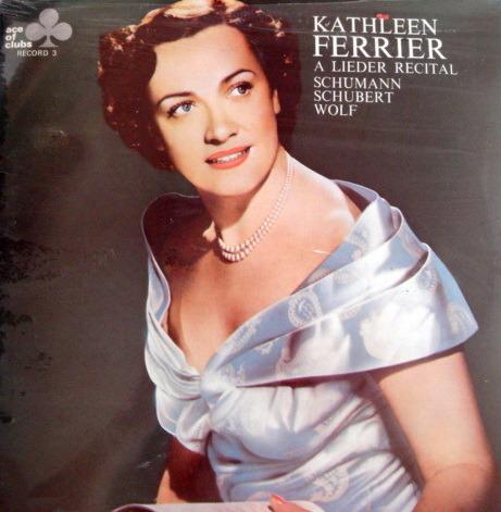 ★Sealed★ Decca-Ace of Clubs / - KATHLEEN FERRIER A Lieder Recital!
