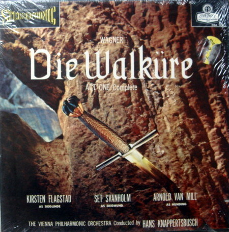 ★Sealed★ London-Decca / KNAPPERTSBUSCH, - Wagner Die Walkure Act One, 2LP Box Set!