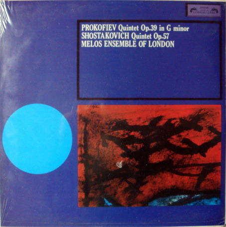 ★Sealed★ London-L'OISEAU-LYRE /  - MELOS ENSEMBLE, Prokofiev-Shostakovich Quintets!