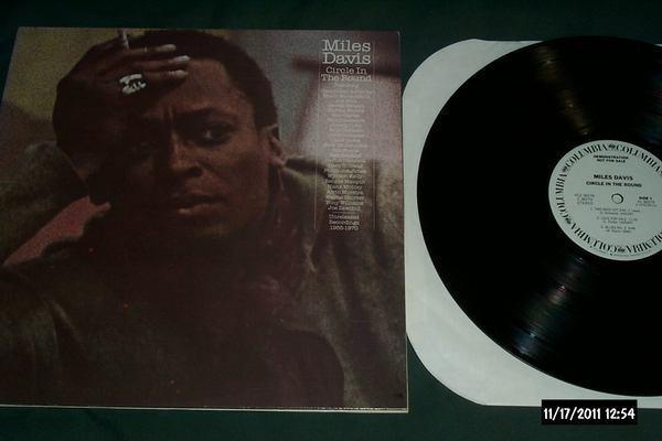 Miles Davis - Circle In The Round 2 lp white label promo nm