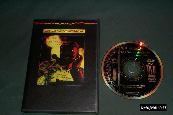 Merl Saunders - Blues From The rain forest  mfsl dvd