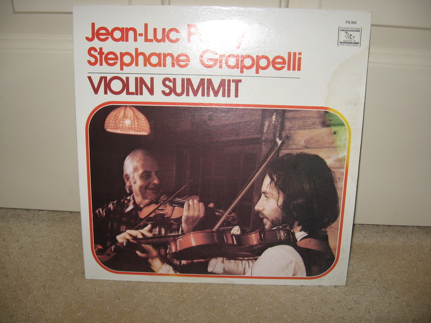 Jean-Luc Ponty/Stephane Grappelli - Violin Summit
