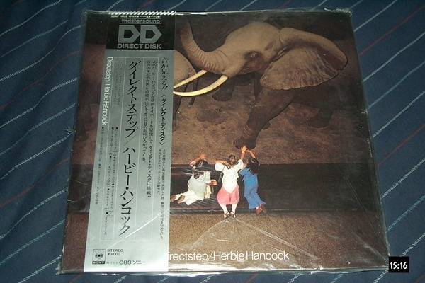 Herbie Hancock - Mastersound LP Japan directstep sony direct disc nm