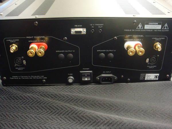 Simaudio MOON W-7 Power Amplifier