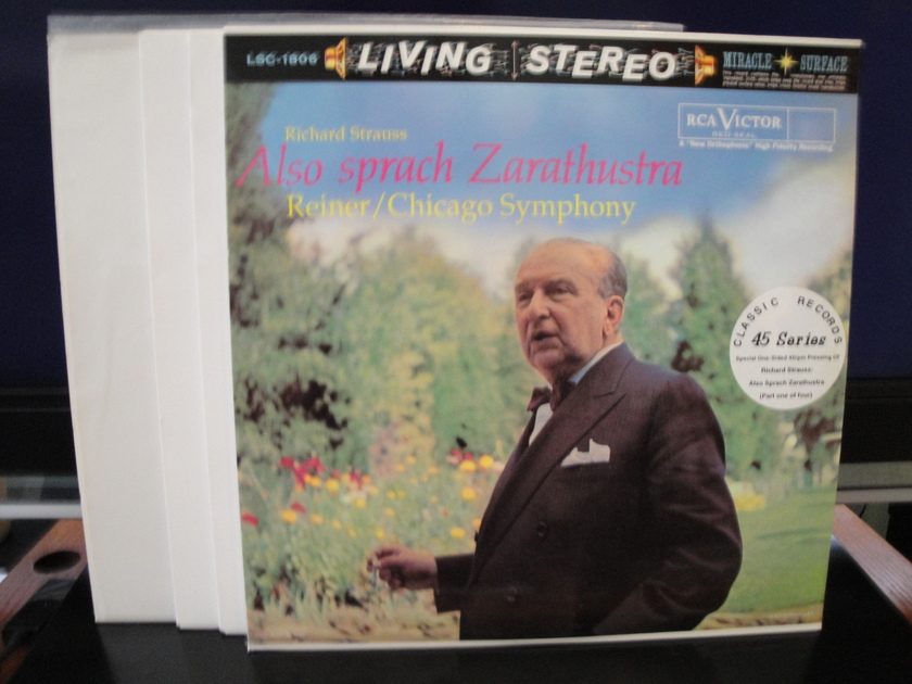 Strauss Also Sprach Zarathustra, Op.30 - Chicago Symhony Orchestra RCA Living Stereo 45RPM Series 4LPS