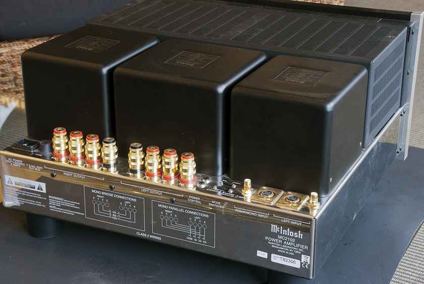 McIntosh MC2102 Tube Power Amplifier; 200w x 2