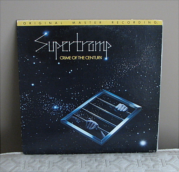 """Supertramp """"Crime of the Century"""" - MFSL - LP - $39.95 includes shipping !"""