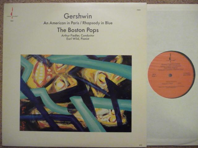 GERSHWIN  AN AMERICAN IN PARIS - RHAPSODY IN BLUE  CHESKY LP MINT