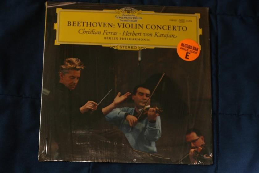 Christian Ferras/Herbert von Karajan - Beethoven: Violen Concerto 139021 SLPM