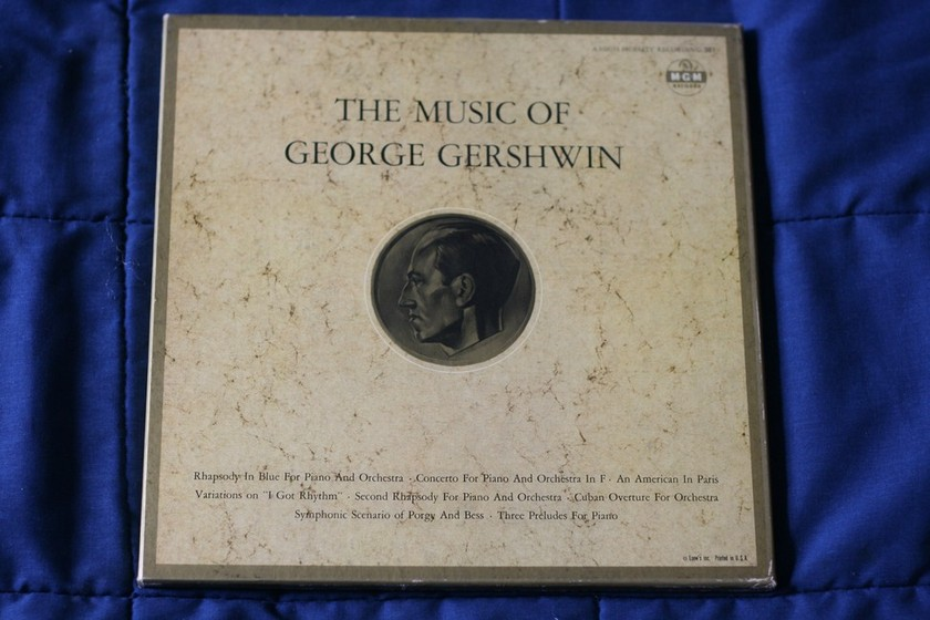 M-G-M Records - The Music of George Gershwin MGM 3E1