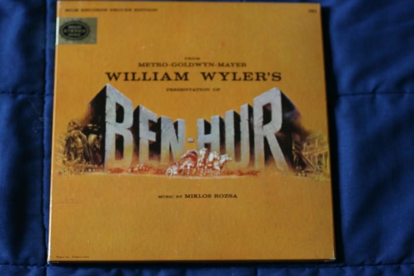 Miklos Rozsa - William Wyler's Presentation of Ben-Hur MGM 1E1
