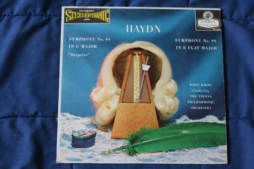 The Vienna Philhmonic Orchestra - Haydn Symphony No. 94/Symphony No. 99 Blue Back London CS 6027
