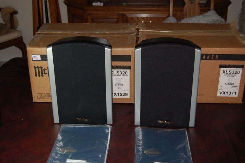 Mcintosh XLS 320 speakers Loudspeakers
