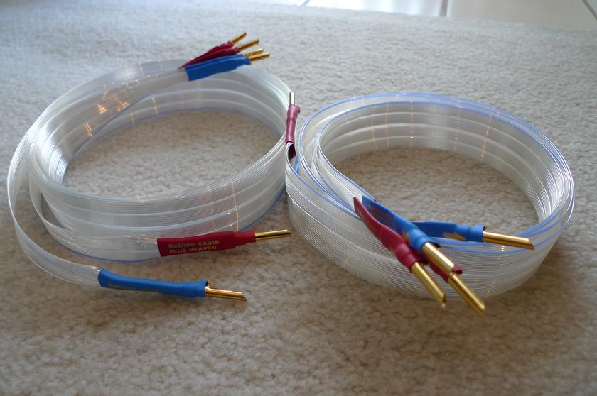 NORDOST Blue Heaven Rev II 2.0M Bi-Wire Speaker Cable