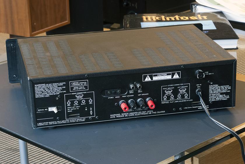 Carver TFM-35 Power Amplifier; 250w x 2